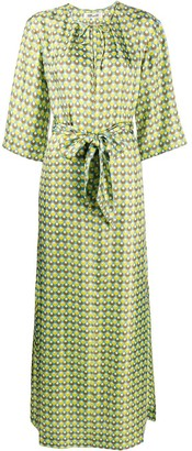Dvf Diane Von Furstenberg Caris geometric-print dress