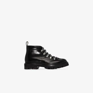 Grenson black Bridget lace-up ankle boots
