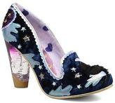 Irregular Choice Women's Stars At Night Rounded toe High Heels in Blue