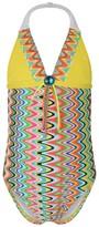 Pate De Sable Multi-Coloured Print Swimsuit