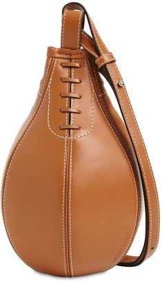 J.W.Anderson Small Punch Grained Leather Shoulder Bag