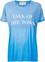 Wildfox Couture Talk of the Town T-shirt - women - Cotton - XS