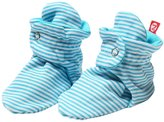 Zutano Candy Stripe Booties (Baby) - Pool-12 Months
