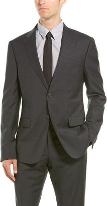 Ermenegildo Zegna Z 2Pc Wool Suit With Flat Pant