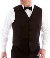 JCPenney Stafford Tuxedo Vest-Big & Tall