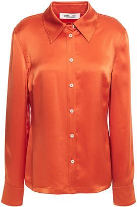 Diane von Furstenberg Samson Satin Shirt