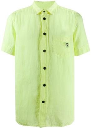 Diesel Mohawk patch shirt