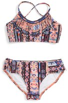 Seafolly Girl's Friendship Fiesta Two-Piece Swimsuit