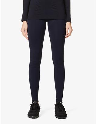 FALKE ERGONOMIC SPORT SYSTEM Warm high-rise stretch-woven leggings