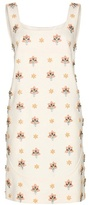 Emilio Pucci Embellished Cotton Dress