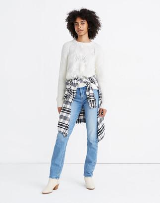 Madewell Everett Rib-Play Pullover Sweater