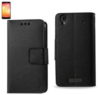 Reiko Zte Max 3-in-1 Wallet Case In Black