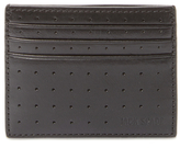 Jack Spade 610 Perforated Leather Card Holder