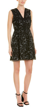 Anna Sui Prima Ballerina Silk A-Line Dress