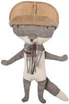 Maileg North America Wolf w/ Hat, Gray/Multi