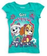Nickelodeon Little Girl's Paw Patrol Graphic Cotton Tee