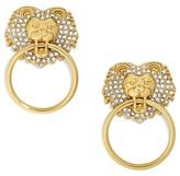 BaubleBar Women's Panthera Doorknocker Earrings