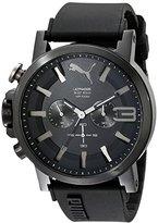 Puma Men's PU103981002 Ultrasize 50 Analog Display Quartz Black Watch