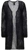 Haider Ackermann Cotton and mohair-blend open cardigan