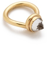 Push by pushmataaha Peaked Knot Ring