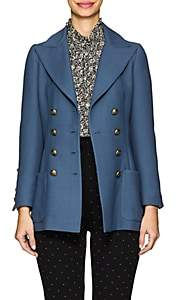 Philosophy di Lorenzo Serafini Women's Twill Double-Breasted Blazer - Blue