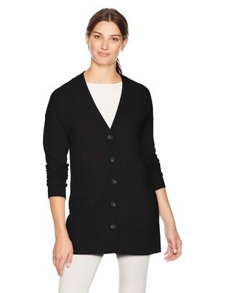 Lark & Ro Amazon Brand Women's Sweater Long Sleeve V-Neck Cardigan Cashmere Sweater