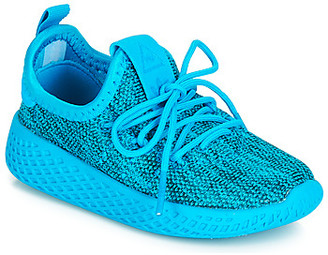 adidas PW TENNIS HU I girls's Shoes (Trainers) in Blue