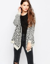 Bellfield PU Trim Cardigan