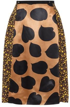 Marni Mixed Print Envelope Skirt