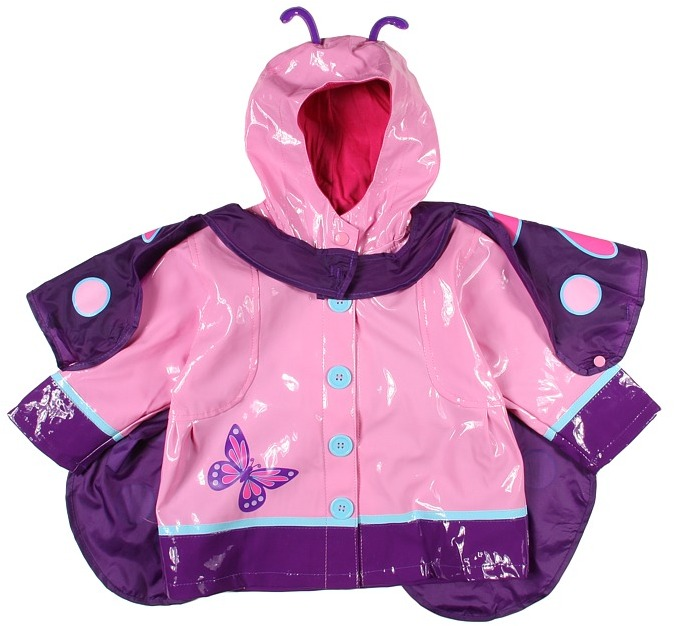 Western Chief Wings Rain Coat (Pink) - Apparel