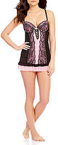 Cinema Etoile Victoria Collection Lace-Up Babydoll