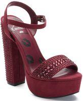 Juicy Couture Women's Rhinestone Platform High Heels