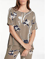 Minimum Janika Printed Top, Olive Night