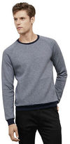 Kenneth Cole Striped Crewneck Sweater