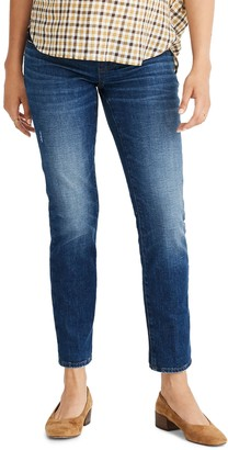 Madewell The Maternity Side-Panel Slim Boy Jean: Adjustable Edition