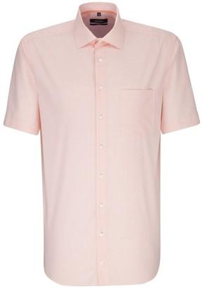 Seidensticker Men's Comfort Kurzarm mit Kent Kragen bugelfrei Business Shirt