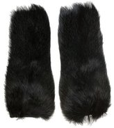 Marni Fox Fur Fingerless Gloves