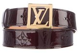 Louis Vuitton Vernis Monogram Belt