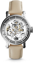 Fossil Original Boyfriend Mechanical Bone Leather Watch