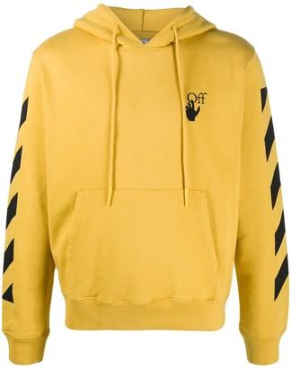 Off-White Arrows motif print hoodie