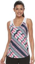 FILA SPORT Women's FILA Sport® Chevron Print Mesh Tank Top