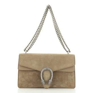 Gucci Dionysus Brown Suede Handbags