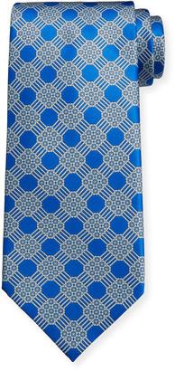 Stefano Ricci Men's Large-Print Luxe Silk Tie