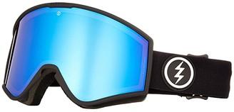 Electric Eyewear Kleveland (Matte Black/Brose/Blue Chrome) Athletic Performance Sport Sunglasses
