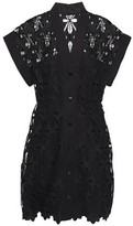 Sandro Amandine Guipure Lace Mini Dress
