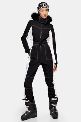 Topshop Colour Block Ski Snow Suit by SNO
