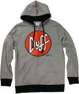 Bioworld The Simpsons Duff Beer Logo Men's Zip Hoodie