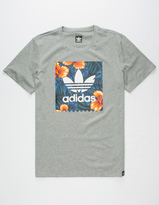 adidas Sweet Leaf Blackbird Mens T-Shirt