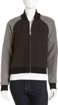 Yigal Azrouel Cut25 by Mixed Media Varsity Jacket