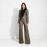 Rachel Zoe Dion Metallic Stripe Suiting Trousers